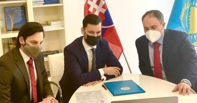 Rada slovenských exportérov a Centrum rozvoja obchodnej politiky QazTrade podpísali dohodu
