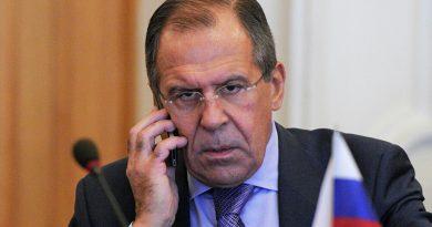 Odpovede Sergeja Lavrova na otázky médií